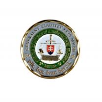 Ministerstvo vnitra SK plaketa