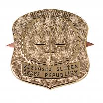 Ražený odznak na uniformu