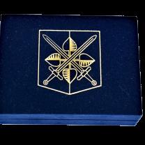 Sametová krabička s tiskem