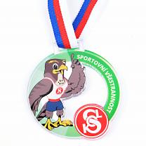Akrylátová medaile