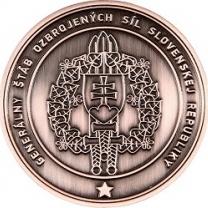 Generálská plaketa SK