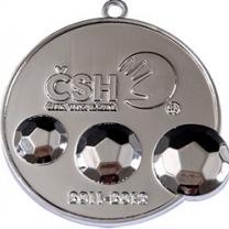 Ražená medaile ČSH